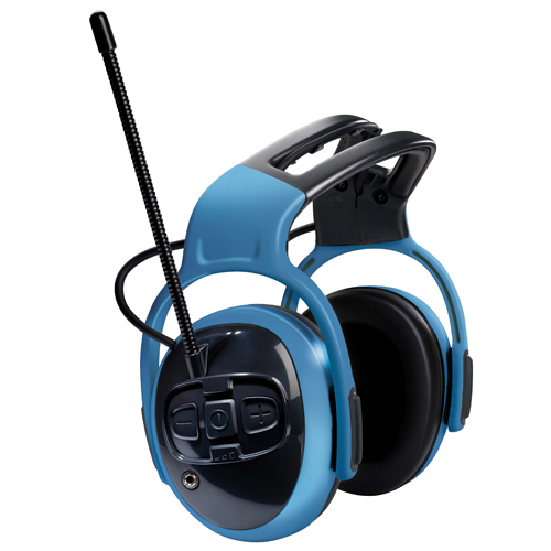 MSA Sordin left/RIGHT Blauw FM Radio Pro